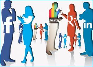 Social media interactions
