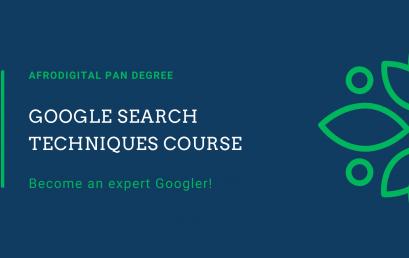 Google Search Techniques Course